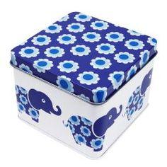 BLAFRE - Liten boks Blå elefant