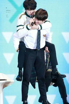 Jungkook and Suga ❤ BTS 3rd MUSTER (161112/161113) #BTS #방탄소년단