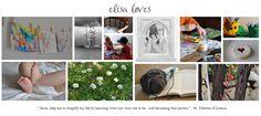Elisa Loves: How to Make a Photo Collage Blog Header