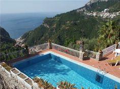 Apartment Ravello, Italy #roomwithaview #vacasol