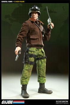 G.I. Joe General Hawk Sixth Scale Figure by Sideshow Collect ...
