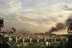 Deux artistes néo-zélandaisont abattu l'apocalypse sur le monde. Ils nous dévoilent aujourd'hui ce que sont devenus certains lieux célèbres. Vous êtes-vous déjà demandé à quoi ressembleraient la tour Eiffel et Notre-Dame d...