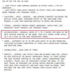 Insane snow falls on Buffalo.