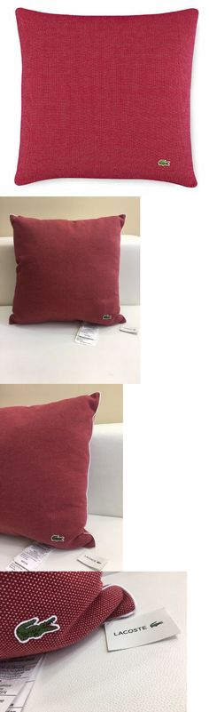 decorative bed pillows lacoste caviar red knit auckland 18 x 18 square decorative decoration
