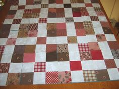 Step 1 instructions scrappy project. - Quilters Club of America