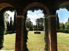 Castle of San Fabiano: the Lodge's garden