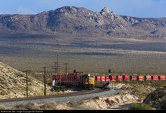 RailPictures.Net Photo: UP 4939 Union Pacific EMD SD70M at Cima, California by Ken Kuehne