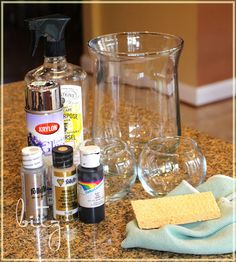 Beautiful DIY Mercury Glass!