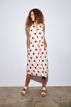 the odell's cocoon ikat dress