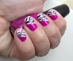 The (mis)Adventures of a Wanna Be Martha: Day at the zoo mani