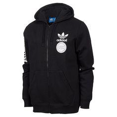 Men's adidas Originals Superstar Graphic Sherpa Full-Zip Hoodie - AB8030 BLK | Finish Line