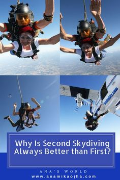 Why Is Second Skydiving Always Better Than First? Travel Tips.