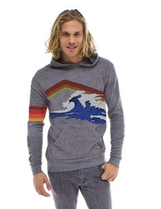Aviator Nation Mountain Wave Pullover