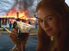 """She literally blew up half of King's Landing/the Game of Thrones cast. 
