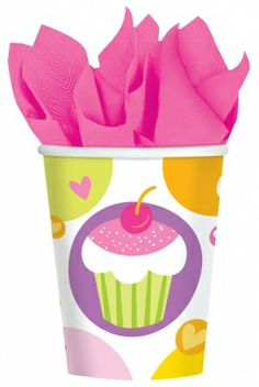 Everyone loves cupcakes and how could you not, especially when they look this cute! What makes these cups even better, is that they're only $1.49 from Parties2order! (Package of 8).