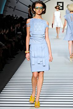 Fendi Spring 2012 RTW - Review - Collections - Vogue