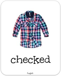 clothes, flashcards, patterns