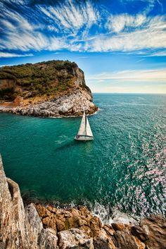 https://flic.kr/p/bs2wJj | Sailboat | Porto Venere, Italy