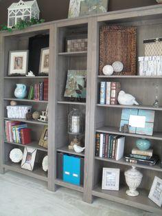Ikea Hemnes Bookcases (2 Large, 1 Narrow)