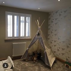 We wanted to share this room sent to us by as it is so beautiful Dinosaur Wallpaper, Boys Wallpaper, Kids Decor, Home Decor, New Room, Designer Wallpaper, Own Home, Dinosaurs, Joseph