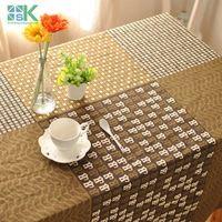 2016 Summer new zakka Japanese cotton cloth restaurant bar cafe decorative table cloth , freee shipping