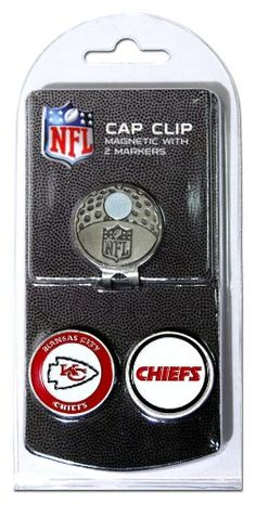 NFL Kansas City Chiefs Cap Clip With 2 Markers >>> You can find more details by visiting the image link. Note:It is Affiliate Link to Amazon.