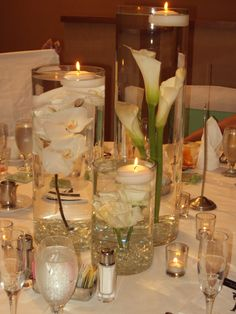 Wedding Center Piece by ~ifihadsanitymikaed on deviantART
