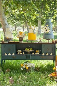 Perfect Pear Dessert Table