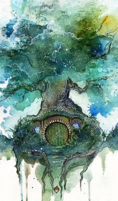 Oak Tree by Kinko-White.deviantart.com on @DeviantArt