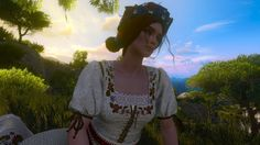 I'm a big fan of Witcher games and books. My favorite character is Triss Merigold, but I'm a sucker. Witcher Triss, The Witcher 3, Triss Merigold, Hail Storm, Wild Hunt, White Wolf, Auradon, Geek Stuff, Games