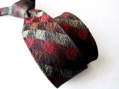 Midcentury Boys Neck Tie Clip On Wembley Modernist 50s 60s Vintage Multi-Color #Wembley #NeckTie #1950s #vintagetie #necktie #modernisttie #mensvintagefashion