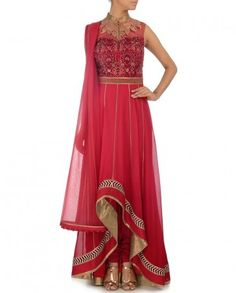 Showcase this Gorgeous Anarkali at the Awards - Cocktail - Occassion - Wedding JJ VALAYA