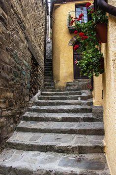 Narrow Redefined in Castelmezzano, Basilicata, Italy