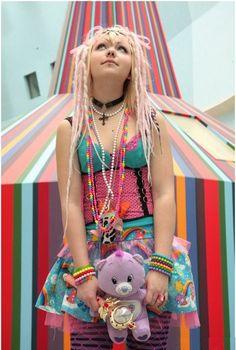 #cybergoth #lolita