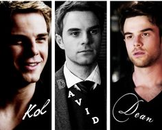 Nathaniel Buzolic [as Kol Mikaelson • David Lassiter • Dean Stavros]