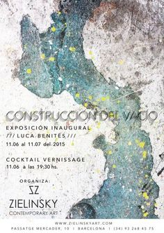 Construcción del Vacío | ArtDiscover Contemporary Art, Barcelona, Cocktails, Sky, Poster, Exhibitions, Artists, Projects, Craft Cocktails