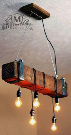 light.lamp.ceiling light.lighting.pendant light.light fixture.industrial lighting.vintage light.chandelier.string lights.(Rustic Chandelier) by MakariosDecor on Etsy https://www.etsy.com/listing/250613143/lightlampceiling-lightlightingpendant