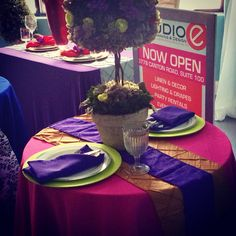 Event Design by Nu Epps at Esyntial Elements Consulting Inc. Tablescape ideas