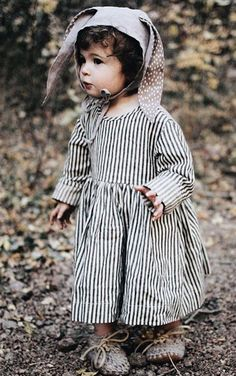 Handmade Linen Bunny Ears Bonnet | TotsModa on Etsy
