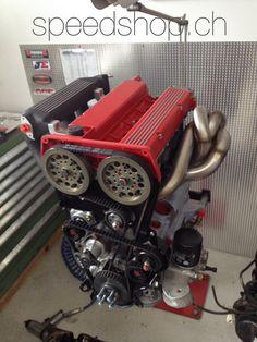 SPEEDSHOP.CH Lancia Delta HF Integrale Work in Progress