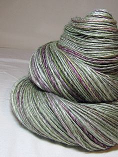 Handspun Yarn Gently Thick and Thin DK Single by SheepingBeauty, $40.00