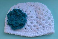 Summer Cotton Cloche Crochet Baby Girl Hat by littlenogginknits, $18.00