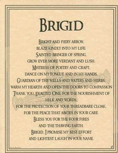 Parchment Celtic Triple Goddess BRIGID Book of Shadows Page Wicca Witchcraft Celtic Goddess, Celtic Mythology, Celtic Paganism, Brighid Goddess, Celtic Prayer, Celtic Druids, Goddess Symbols, St. Lucia, St Brigid