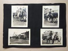 Lot (24) Antique Vintage Las Vegas NM Photos COWBOY REUNION Normal U Elks 1920s