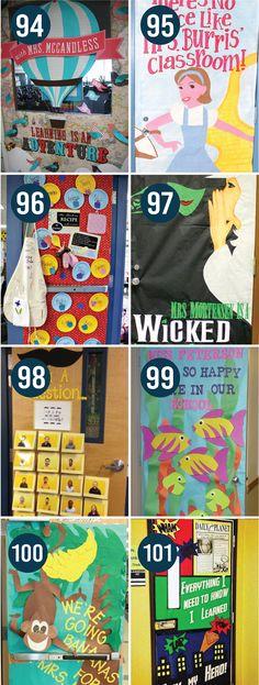 Quick and Easy Teacher Appreciation door decor ideas!