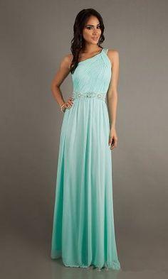 seafoam prom dresses with one strap @Kara Morehouse Morehouse Morehouse Morehouse Tegze