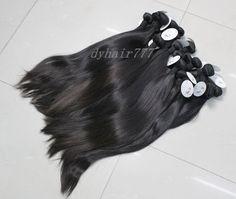 Color 1B# Cambodian straight human hair weaves. http://www.dyhair777.com/Cambodian-Virgin-Hair.html