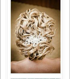 Wedding hair clip