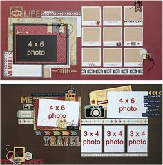 AUGUST 2014 LAYOUT CLUB KIT featuring Getaway by Echo Park