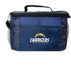 NFL 2014 6 Pack Cooler Lunch Tote (San Diego Chargers)